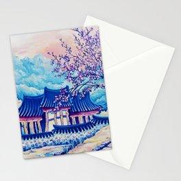 Korean Spring Stationery Cards