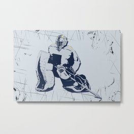 Pro Goalie - Ice Hockey Metal Print