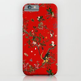 Monkey World Red iPhone Case