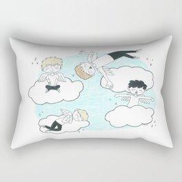 Angel Boys Rectangular Pillow