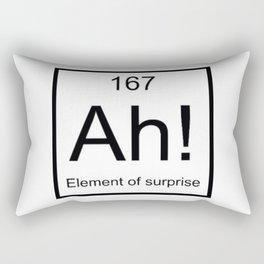 Ah The Element of Surprise T-Shirt Gift for Science Geek Short Sleeve Unisex T-Shirt Rectangular Pillow