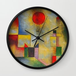 Paul Klee abstract Wall Clock