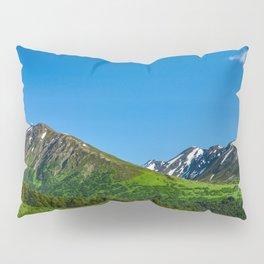Alaskan Summer Greens - 1 Pillow Sham