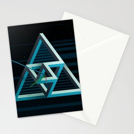 Impossible time Stationery Cards