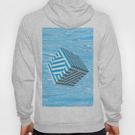 Out Of The Blue Turning Point - Abstract Hoody