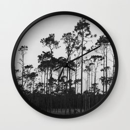 Into The Wood Wall Clock