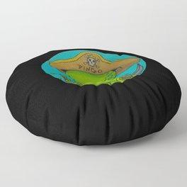The Pirate King Dingo Floor Pillow