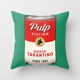 Pulp Shot Throw Pillow