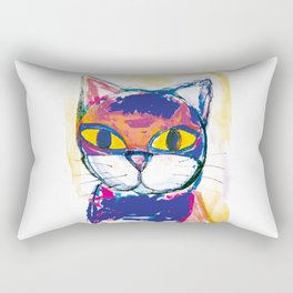 Kitty 2 Rectangular Pillow