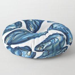First Melt Oysters Floor Pillow