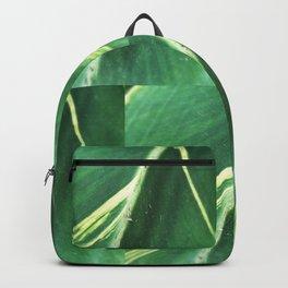 Modern Leaf Tiles Backpack