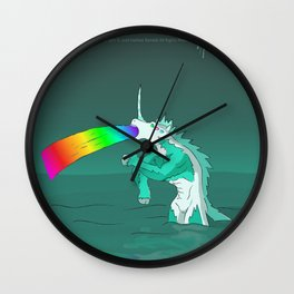 Rejected Kaiju #2 (Sea Horse or Unicorn or Seahorsicorn or whatever) Wall Clock