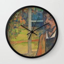 Charles Laval - Self-portrait - Digital Remastered Edition Wall Clock