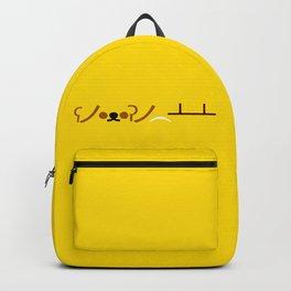 ʕノ•ᴥ•ʔノ ︵ ┻━┻ Bear Table Flip! Backpack