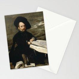 Diego Velázquez - The Jester Don Diego de Acedo - El bufón don Diego de Acedo, el Primo Stationery Cards
