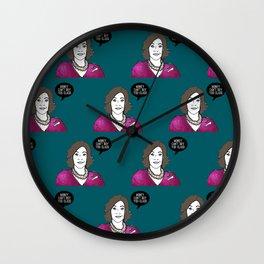 Money can't buy you class Wall Clock