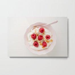 Healthy breakfast Metal Print