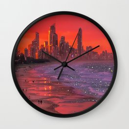 Somewhere in the future  Wall Clock
