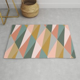 Earthy Diagonals Rug