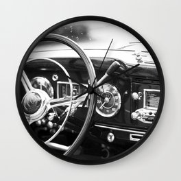 Classic Car Interior Wall Clock
