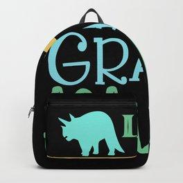 4th grade asaurus Backpack