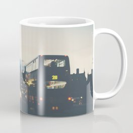 the night bus ...  Coffee Mug