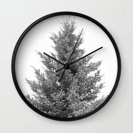 B&W White Spruce Wall Clock