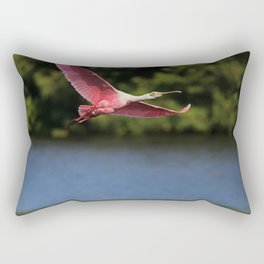 I Heard Your Voice in the Wind Rectangular Pillow