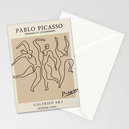 Picasso Dancers Stationery Cards