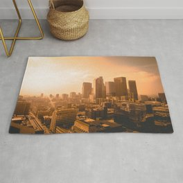 LANDSCAPE PHOTOGRAPHY OF BUILDINGS Rug