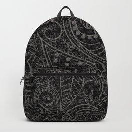 Rustic Leaf Art Backpack