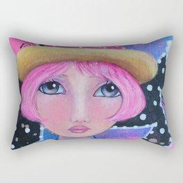 Sassy Girl Rectangular Pillow