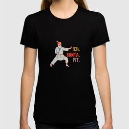 I. Santa. Fit. Santa Claus T-shirt