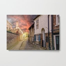 Chapter House Street  Metal Print