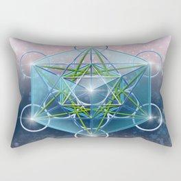 Metatron Cube Rectangular Pillow