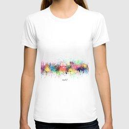 istanbul skyline artistic T-shirt
