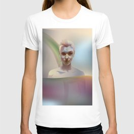 portrait in the water T-shirt