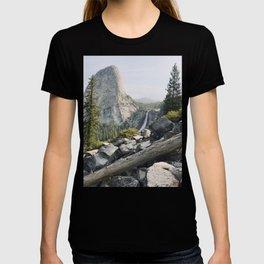 Liberty Cap and Nevada Falls in Morning Light T-shirt