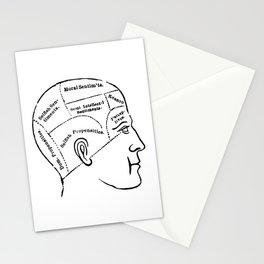 Human mind Stationery Cards