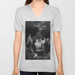 Stella - The Adoration of the Shepherds Unisex V-Neck