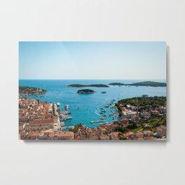 Hvar, Croatia Metal Print