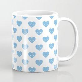 Micronesia Love flagMotif Repeat Pattern design background  Coffee Mug