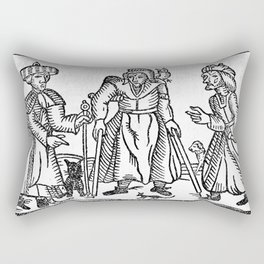 The Devil in Britain and America Rectangular Pillow