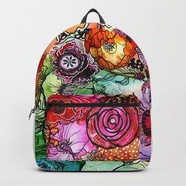 Razzle D Floral Backpack