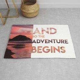 Adventure Begins Rug