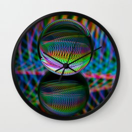 All The Colours Wall Clock