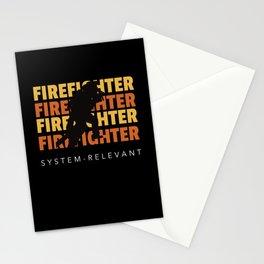 Firefighter System Relevant Stationery Cards