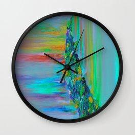 Cyan Lemonade - Have you Tried It? Wall Clock