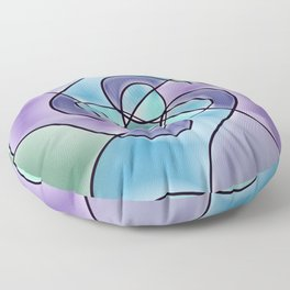 Pinwheel Floor Pillow