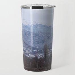 mountain scene Travel Mug